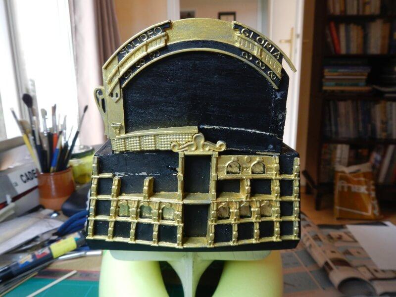 """Construction du """"Sovereign of the Seas"""" au 1/84 par Glénans - Partie I - Page 3 50510"""