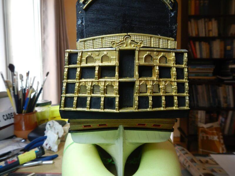 """Construction du """"Sovereign of the Seas"""" au 1/84 par Glénans - Partie I - Page 3 50610"""