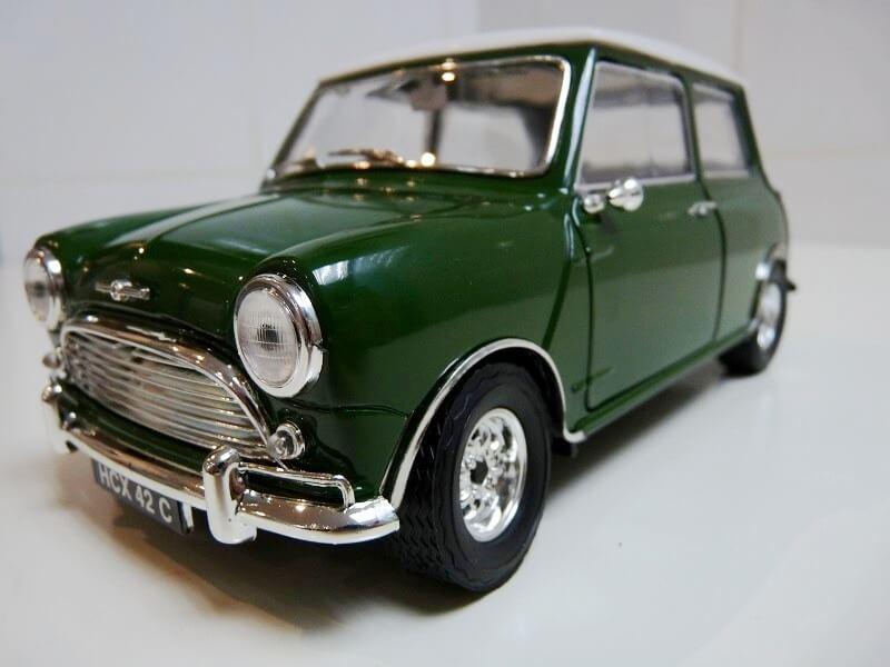 Austin Morris Mini S - 1960 - Solido 1/16ème Austin12