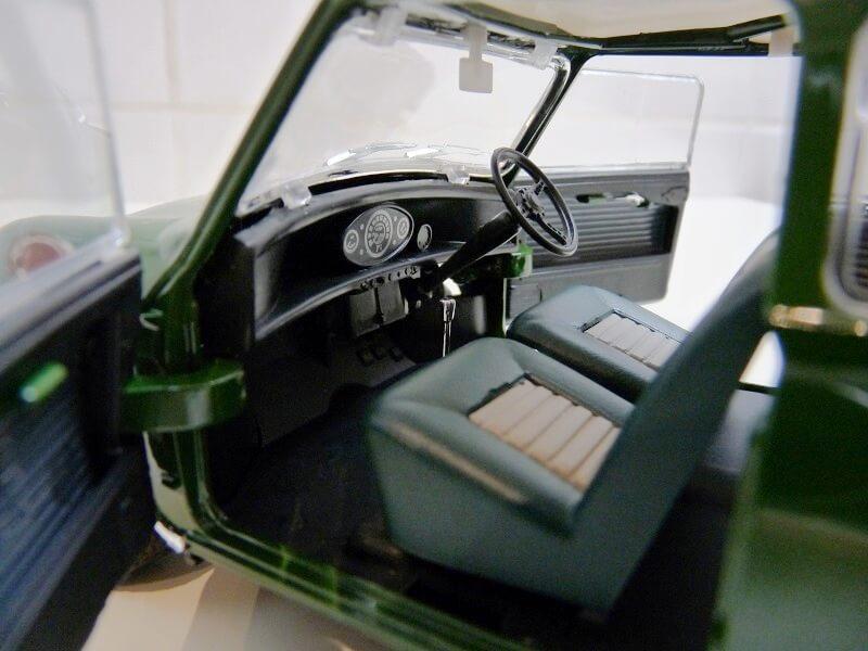 Austin Morris Mini S - 1960 - Solido 1/16ème Austin13