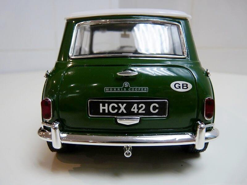 Austin Morris Mini S - 1960 - Solido 1/16ème Austin16