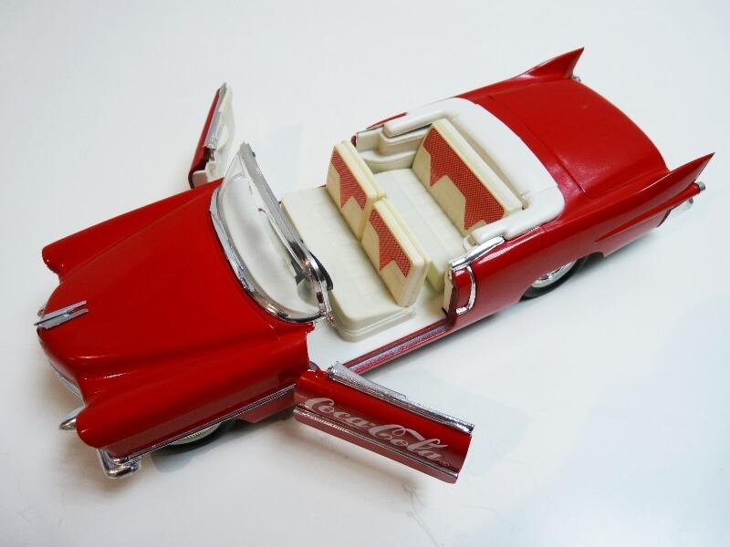 Cadillac Eldorado Coca-Cola - 1955 - Solido 1/21,5 ème Cad-el23