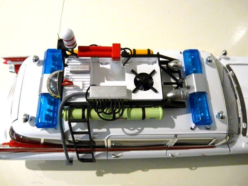 Cadillac Eldorado Biarritz Ghostbuster - 1959 - Hot Wheels 1/18 ème Cadeld54