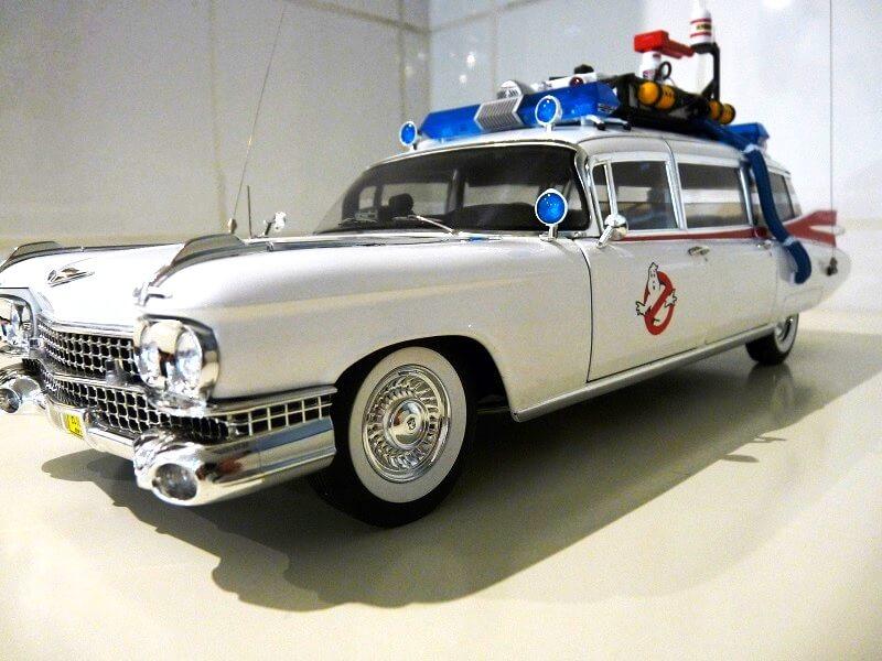 Cadillac Eldorado Biarritz Ghostbuster - 1959 - Hot Wheels 1/18 ème Cadeld58