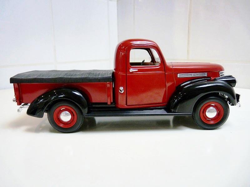 Chevrolet Pick-up type CK - 1946 - Solido 1/18ème Chevpc10