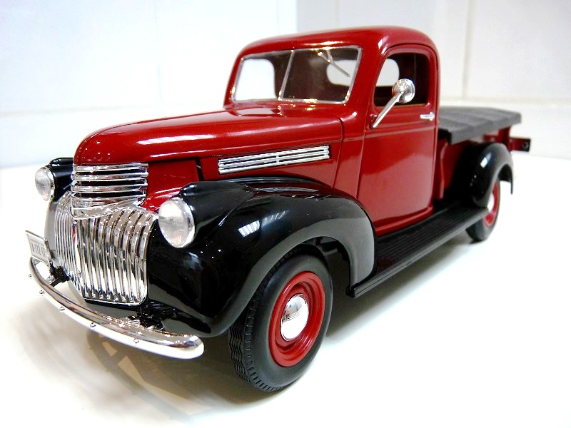 Chevrolet Pick-up type CK - 1946 - Solido 1/18ème Chevpc13