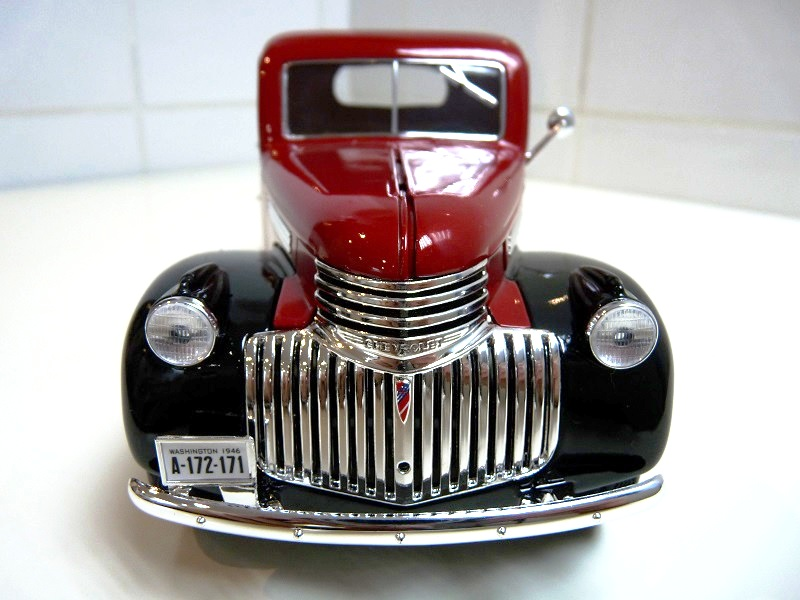 Chevrolet Pick-up type CK - 1946 - Solido 1/18ème Chevpc15