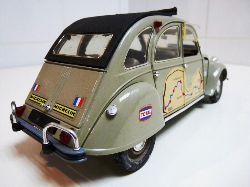 Citroën 2 chevaux Raid - 1966 - Solido 1/17 ème Citr_123