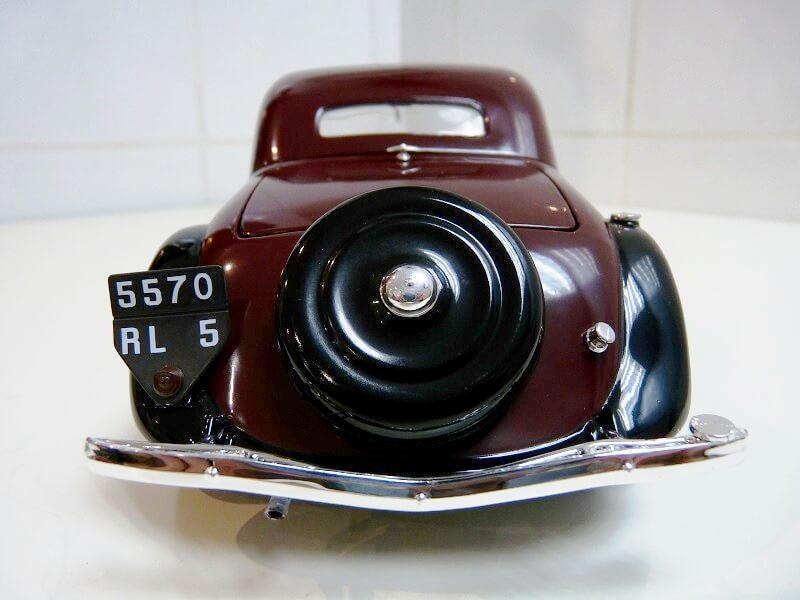 Citroën Traction 11AL Coupé - 1936 - Solido 1/18 ème Citro110
