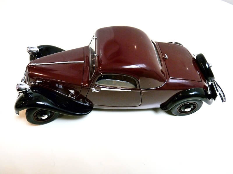 Citroën Traction 11AL Coupé - 1936 - Solido 1/18 ème Citro111