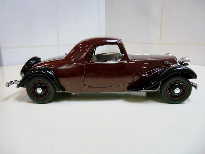 Citroën Traction 11AL Coupé - 1936 - Solido 1/18 ème Citro112