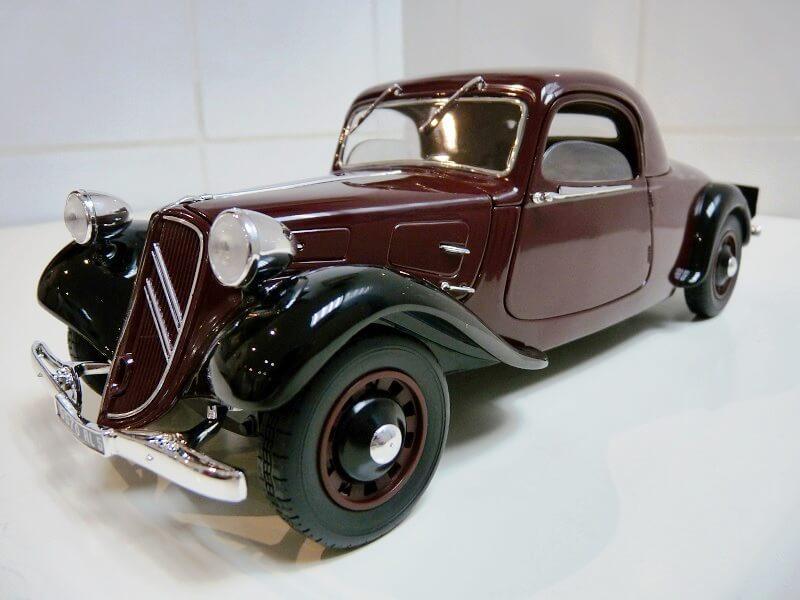 Citroën Traction 11AL Coupé - 1936 - Solido 1/18 ème Citro113