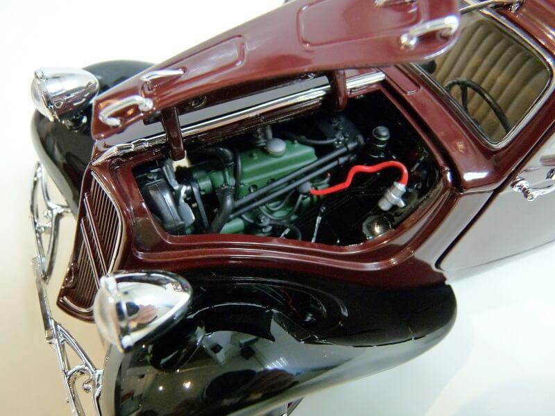 Citroën Traction 11AL Coupé - 1936 - Solido 1/18 ème Citro114