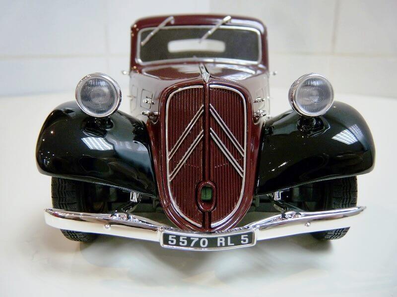 Citroën Traction 11AL Coupé - 1936 - Solido 1/18 ème Citro116