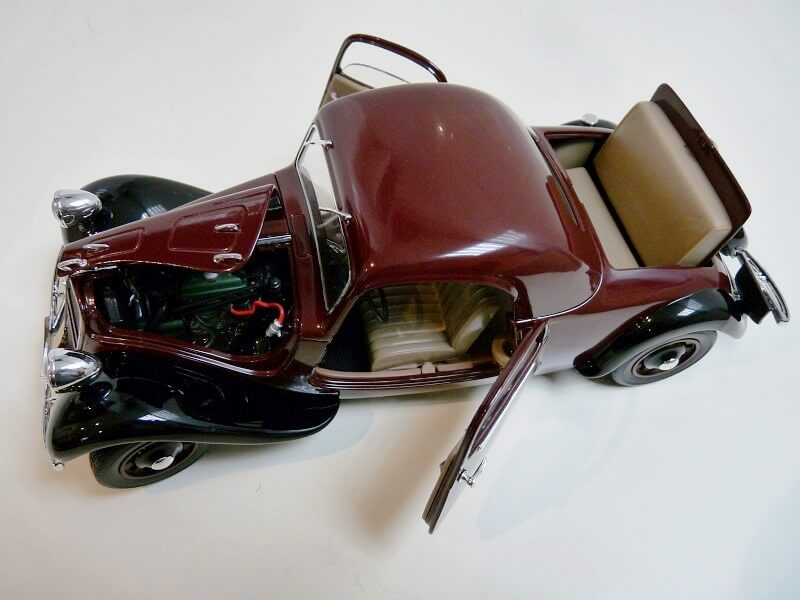 Citroën Traction 11AL Coupé - 1936 - Solido 1/18 ème Citro117