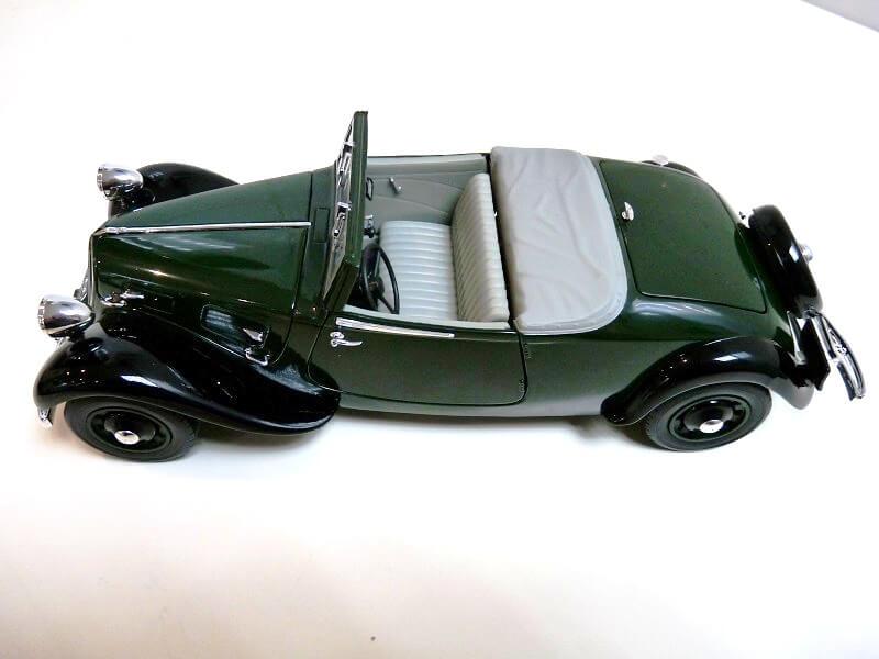 Citroën Traction 11B Cabriolet - 1938 - Solido 1/18 ème Citroe10