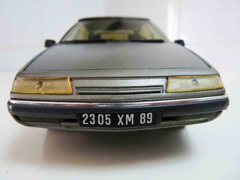Citroën XM V6 - 1989 - Solido 1/18 ème Citrxm10