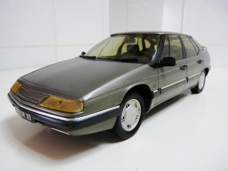 Citroën XM V6 - 1989 - Solido 1/18 ème Citrxm12