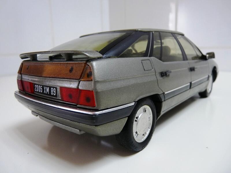 Citroën XM V6 - 1989 - Solido 1/18 ème Citrxm13