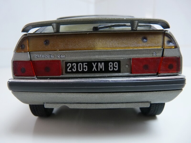 Citroën XM V6 - 1989 - Solido 1/18 ème Citrxm14