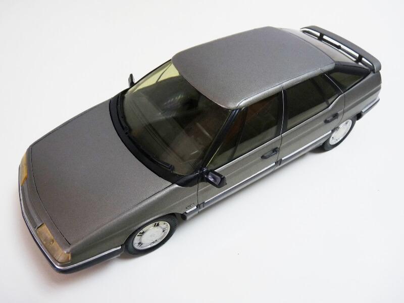 Citroën XM V6 - 1989 - Solido 1/18 ème Citrxm15