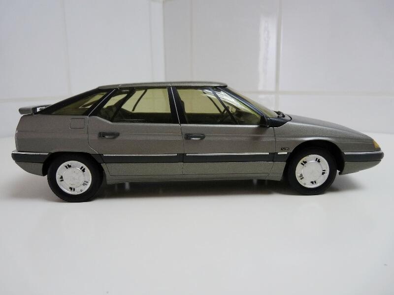 Citroën XM V6 - 1989 - Solido 1/18 ème Citrxm16