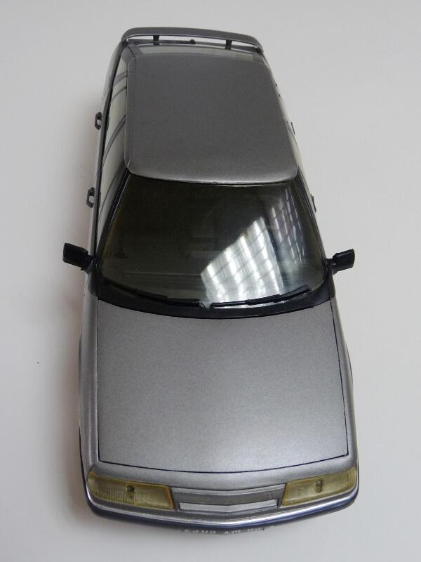 Citroën XM V6 - 1989 - Solido 1/18 ème Citrxm18