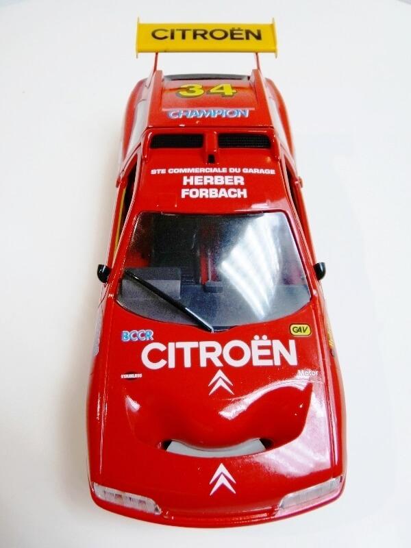 Citroën ZX Rallye Raid - 1991 - Majorette 1/18 ème Citzxr16