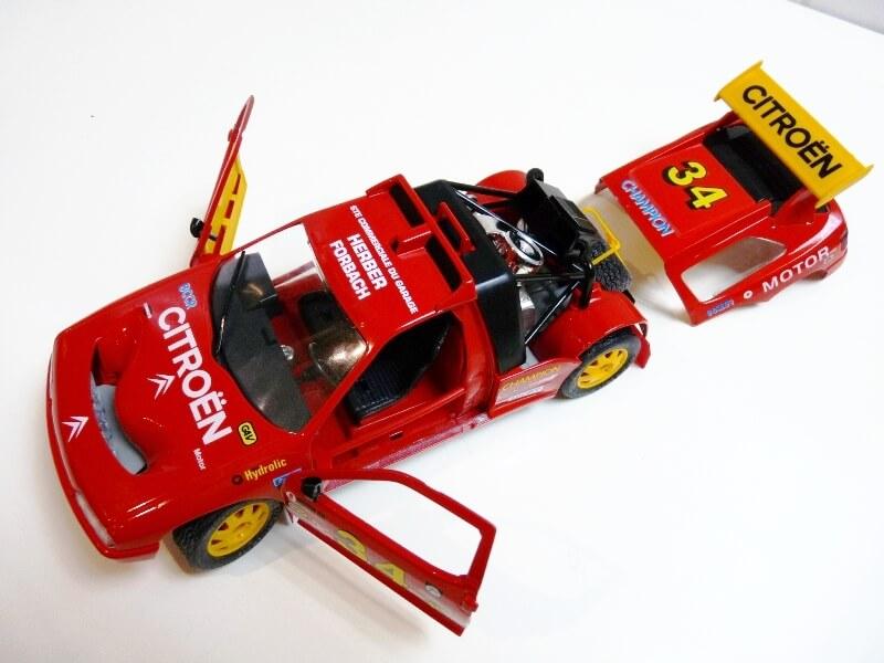 Citroën ZX Rallye Raid - 1991 - Majorette 1/18 ème Citzxr19