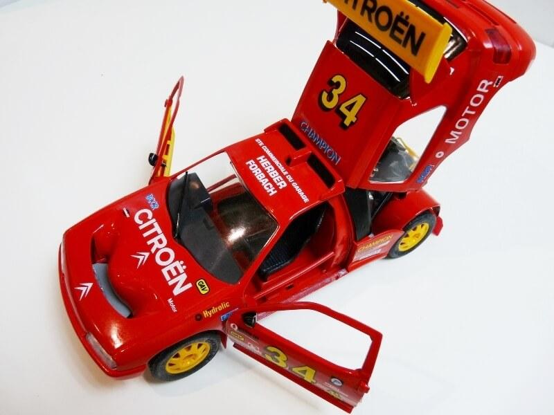 Citroën ZX Rallye Raid - 1991 - Majorette 1/18 ème Citzxr23