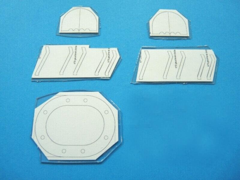 Fabrication de deux crépines pour Tamar - C.A.O. & Métallurgie  Crepin17