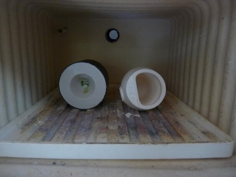 Fabrication de deux crépines pour Tamar - C.A.O. & Métallurgie  Crepin64