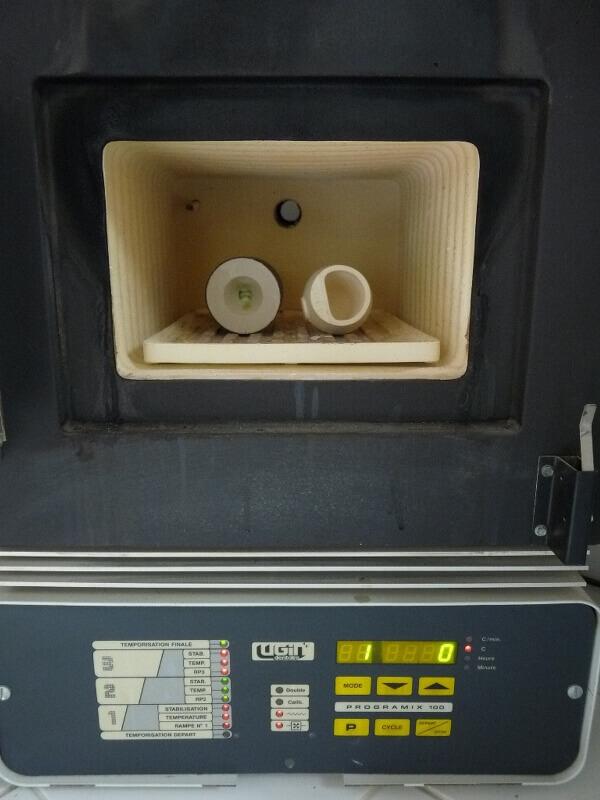 Fabrication de deux crépines pour Tamar - C.A.O. & Métallurgie  Crepin65