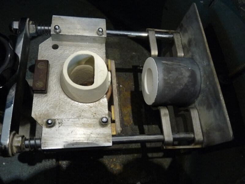 Fabrication de deux crépines pour Tamar - C.A.O. & Métallurgie  Crepin68