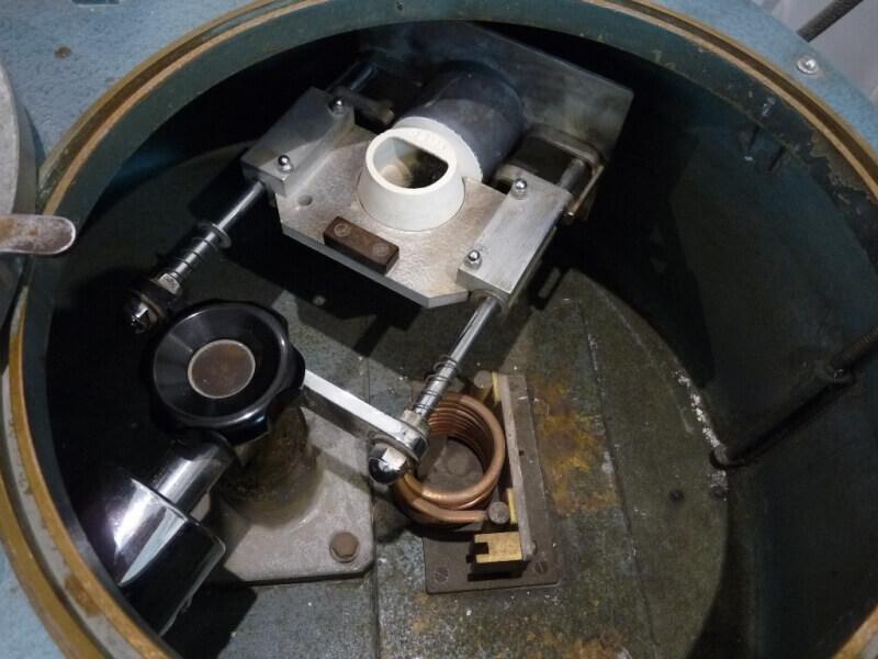 Fabrication de deux crépines pour Tamar - C.A.O. & Métallurgie  Crepin70