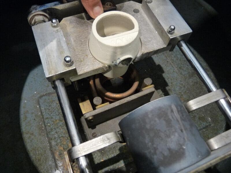 Fabrication de deux crépines pour Tamar - C.A.O. & Métallurgie  Crepin72