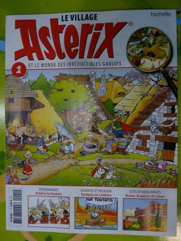 Le Village d'Astérix - Hachette - Série en fascicules Villag10