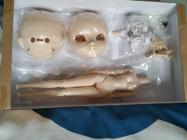 KIT Pullip Make It Own MIO neuf , Natural skin 54379810