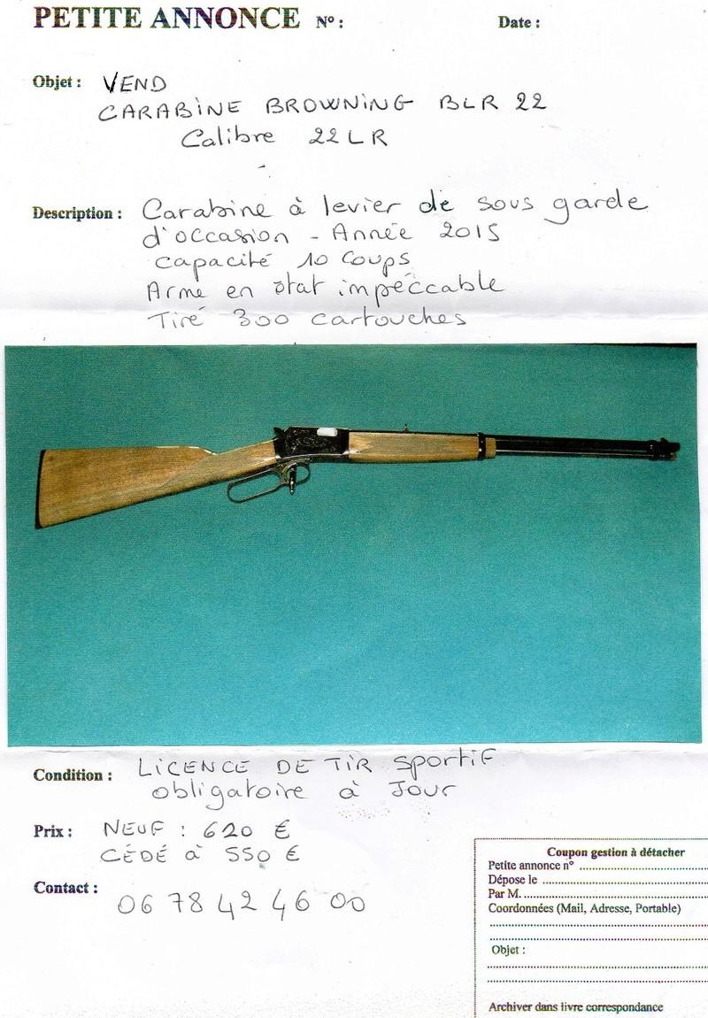 carabine 22lr Annonc10