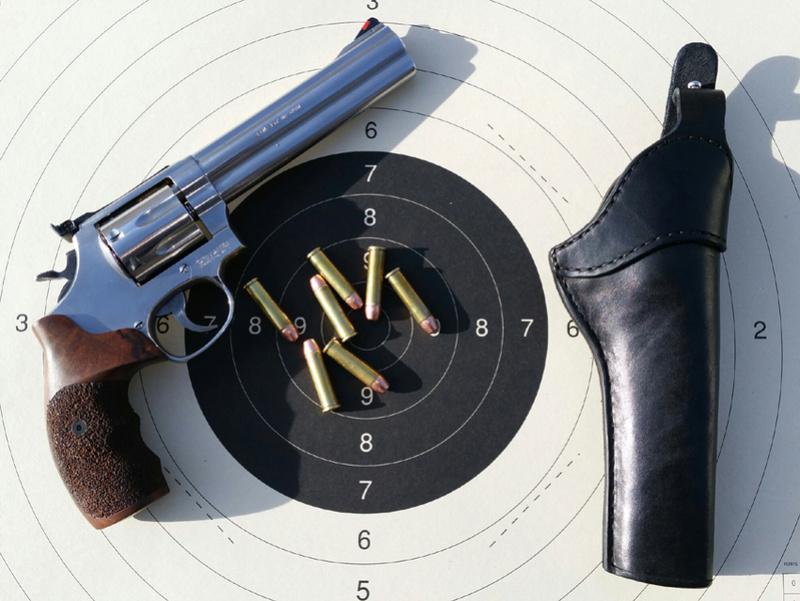 "Holster ""Brigad"" pour revolver. Holste15"