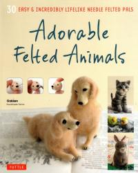 Livre Adorable felted animals – 30 easy & incredibly lifelike needle felted pals Adorab10