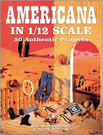 Livre Americana in 1/12 Scale: 50 Authentic Projects Americ10