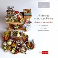 Livre Miniatures en pâte polymère - De retour du marché Dereto10
