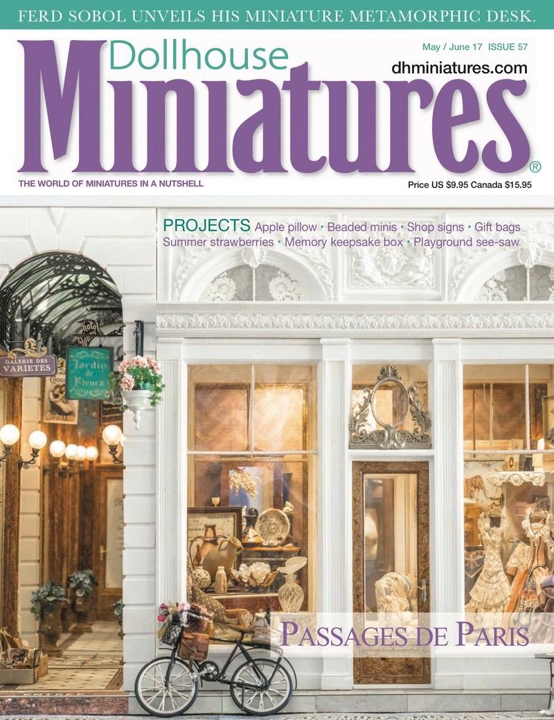 Magazine Dollhouse Miniatures Dollho15
