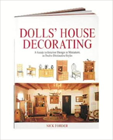 Livre Dolls' House Decorating: A Guide to Interior Design in Miniature, in Twelve Distinctive Styles  Dolls_15