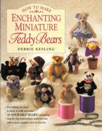 Livre How to make enchanting miniatures Teddy Bears Enchan10