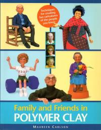 Livre  Family and friends in polymer clay Family10