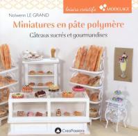 Livre Miniatures en pâte polymère - Gâteaux sucrés et gourmandises Gateau10