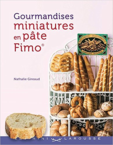 Livre Gourmandises miniatures en pâte Fimo Gourma12