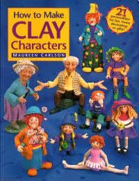 Livre How to make clay characters Howtom10
